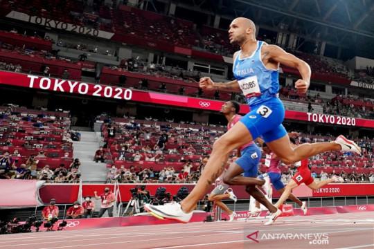 Marcell Jacobs rebut emas lari 100m putra Olimpiade Tokyo