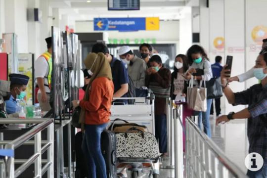 """Bandara Radin Inten Lampung wajibkan penumpang pakai """"PeduliLindungi"""""""
