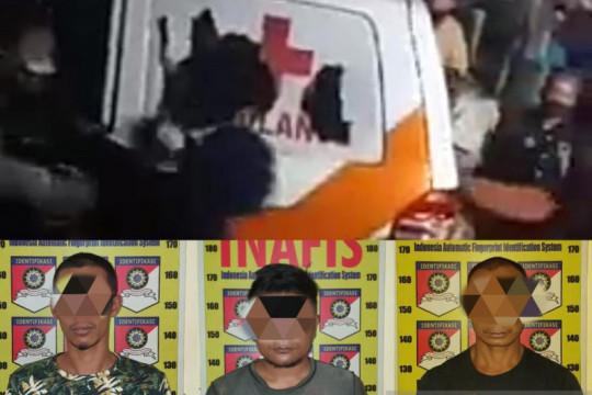 Polres Jember tetapkan tiga tersangka perusak ambulans
