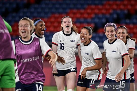 Jadwal Olimpiade sepak bola putri: tersajinya Derby Amerika Utara