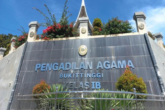 Pengadilan Agama Bukittinggi mencatat 471 kasus perceraian pada 2021