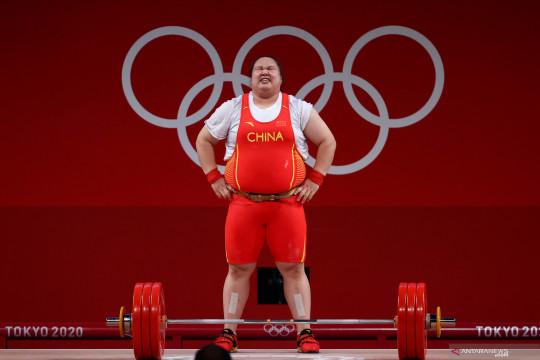 China dominasi emas angkat besi Olimpiade Tokyo