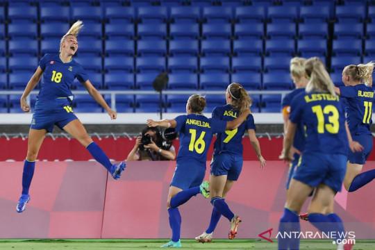 Menang tipis 1-0 atas Australia, Swedia hadapi Kanada di laga final