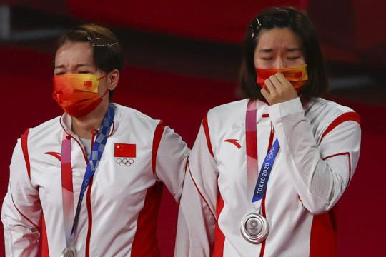 China dominasi medali bulu tangkis Olimpiade Tokyo