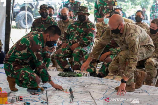 RI, AS perkuat kemitraan melalui latihan militer Garuda Shield 2021