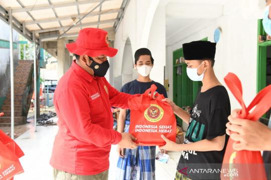 BIN menggelar vaksinasi massal di Ponpes Roudlotussalam, Tangerang