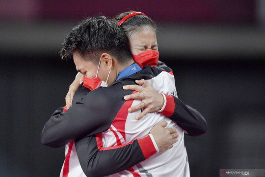 Bonus senilai Rp2,3 miliar untuk peraih medali bulu tangkis Olimpiade