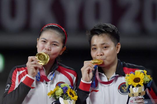 Greysia/Apriyani srikandi kebanggaan Indonesia, kata Menpora