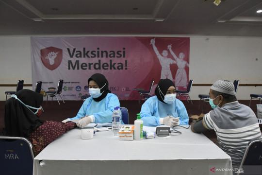 Vaksinasi Merdeka dorong angka vaksinasi Jakarta ke 94,32 persen