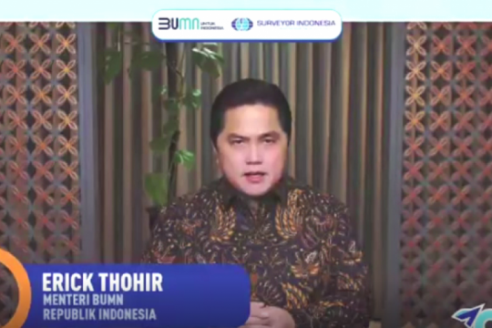 Erick yakin Surveyor Indonesia bantu holding jasa survei go global