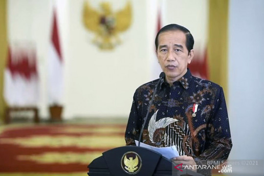 Presiden Jokowi putuskan PPKM level 4 dilanjutkan sampai 9 Agustus