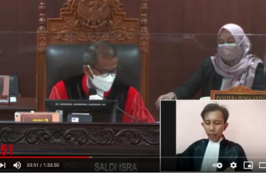 Di sidang MK kuasa hukum mantan ketua KPU sebut kekuasaan DKPP absolut