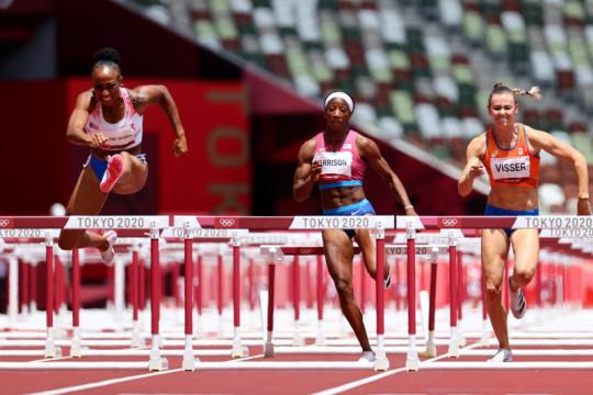 Jasmine Camacho dari Puerto Rico raih emas lari 100 meter gawang putri