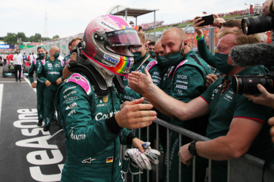 Langgar aturan bahan bakar, Vettel kena diskualifikasi di GP Hungaria