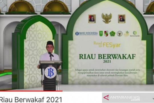 BI: Riau berhasil kumpulkan dana wakaf hingga Rp614,9 miliar