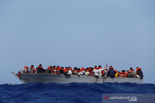 Operasi penyelamatan pengungsi di Laut Mediteranian