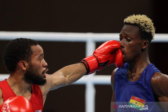 Semifinal tinju kelas bulu putra Olimpiade 2020