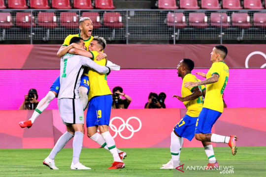 Tim Samba lolos ke final Olimpiade Tokyo 2020