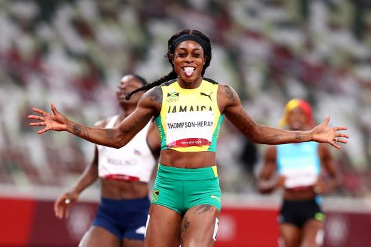Thompson-Herah cetak sejarah ulangi dua emas Rio di Tokyo 2020