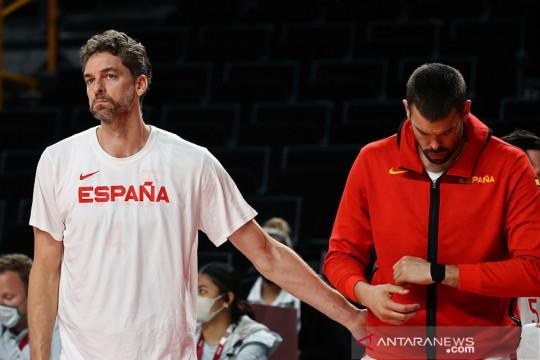 Gasol bersaudara pensiun dari timnas basket Spanyol