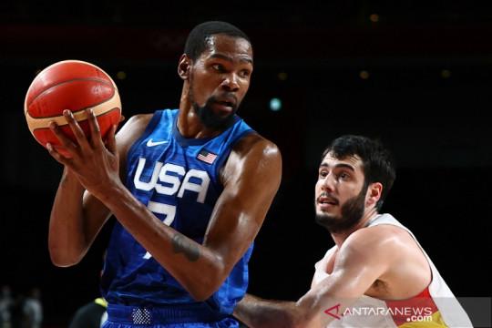 Kevin Durant pimpin Amerika singkirkan Spanyol di perempat final