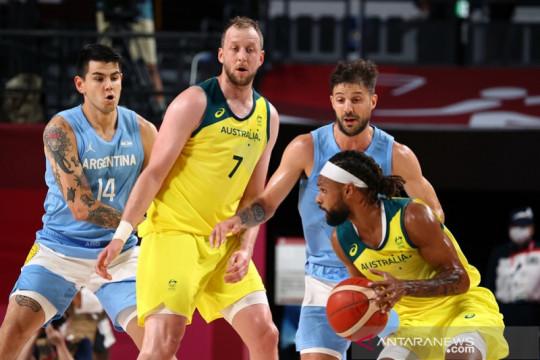 Lumat Argentina, Australia tantang AS pada semifinal basket putra