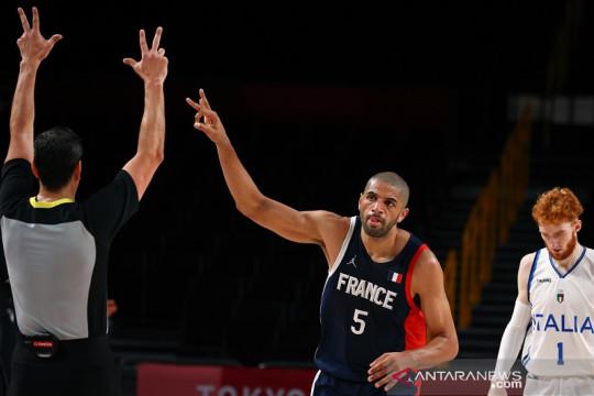 Prancis capai semifinal basket putra usai menang kontra Italia