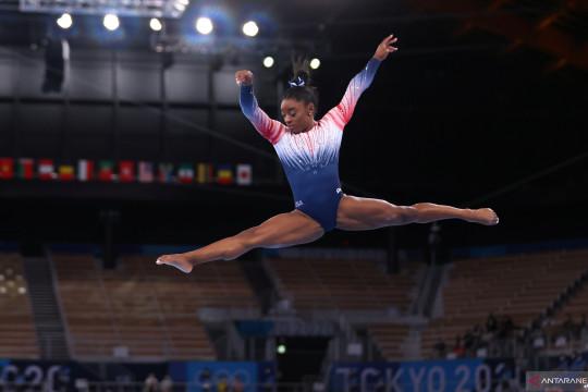 Simone Biles tinggalkan Tokyo dengan raihan satu perunggu Olimpiade