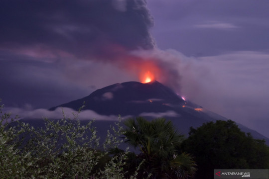 Kebakaran hutan di Gunung Ili Lewotolok mulai bisa dipadamkan