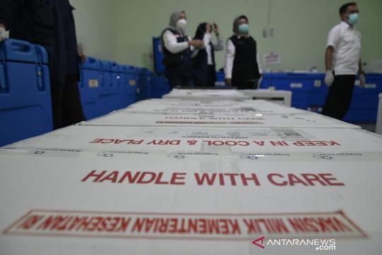 Dinkes Sumsel distribusikan vaksin Moderna untuk tenaga kesehatan