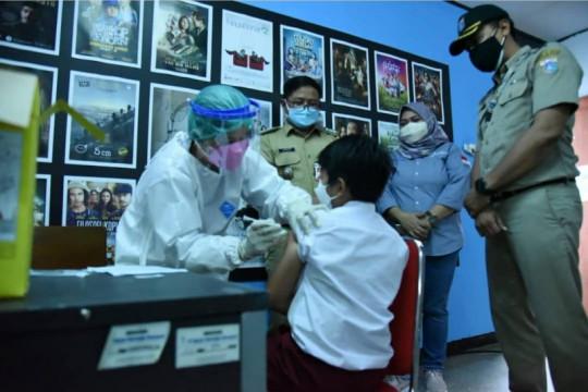 7000 pelajar di Matraman Jakarta Timur belum vaksin COVID-19