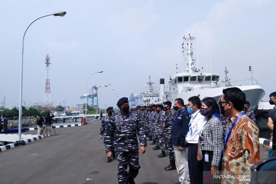 Kasal lepas ekspedisi penelitian Jala Citra I Aurora ke Halmahera