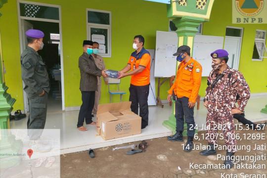 BNPB distribusikan 50.000 masker untuk masyarakat Banten