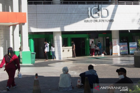 Dirut: Tingkat keterisian tempat tidur di RSUD Soetomo mulai menurun