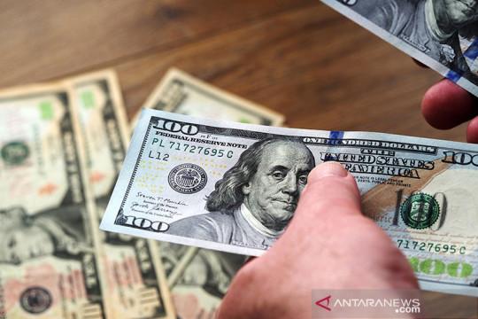 Dolar AS jatuh dari tertinggi 1 tahun karena data lemah, konsolidasi