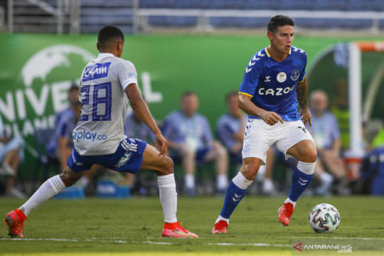 Everton siap jual James Rodriguez asalkan ada penawaran yang tepat