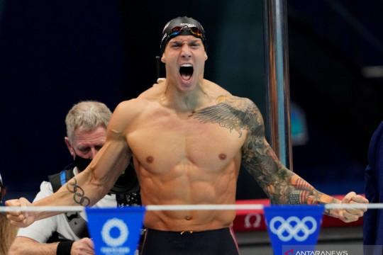 Caeleb Dressel tak ingin ubah gaya hidup meski juarai Olimpiade