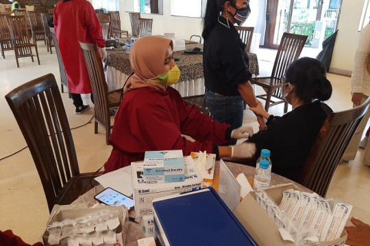 Balai Sarwono targetkan 1.000 warga mendapat vaksin pada 4-5 Agustus