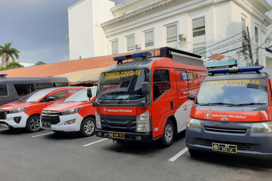 Polrestro Jaksel kerahkan tim khusus Vaksinasi Merdeka Mobile