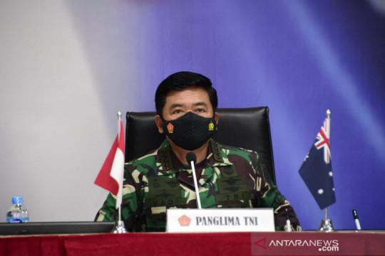 Panglima pastikan pandemi COVID-19 tak hambat kerja sama TNI dan ADF