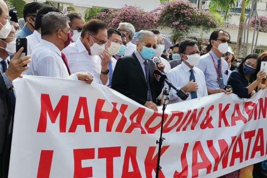 Oposisi Malaysia minta sidang mosi percaya PM dilaksanakan secepatnya