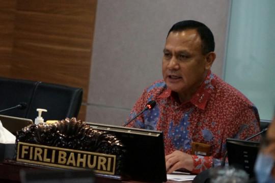 Firli isi materi muatan lokal dalam diklat bela negara pegawai KPK