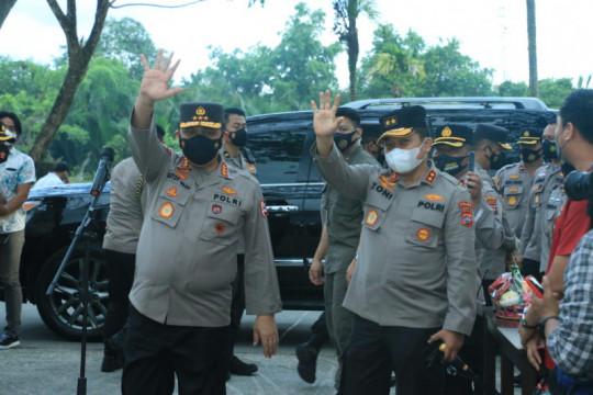 Wakapolri kunjungi Rumah Sehat COVID-19 di Padang