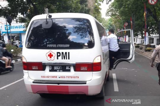 Seorang pria diduga lakukan upaya bunuh diri di depan Balkot Bandung