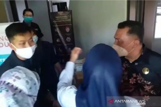 Ketua Komisi D DPRD Cianjur mengamuk saat sidak perusahaan