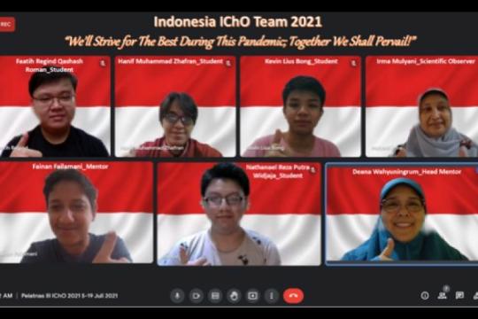 Siswa Indonesia raih 4 medali dalam Olimpiade Kimia Internasional
