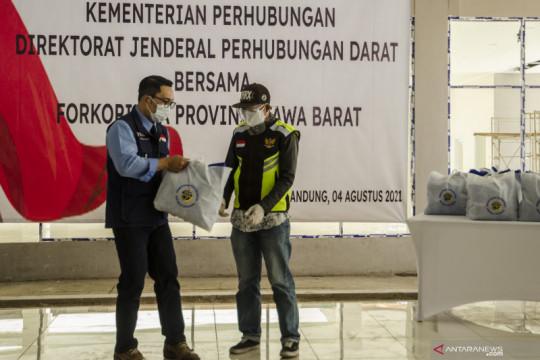 Bansos untuk pelaku transportasi darat