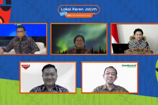 Bantu bangkitkan UMKM, BRI gelar pameran virtual Lokal Keren Jatim
