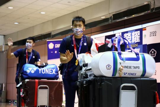 Jet tempur kawal kepulangan tim bulu tangkis Taiwan