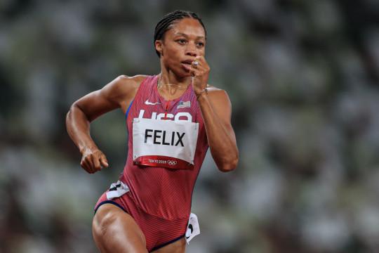 Menanti Allyson Felix jadi legenda atletik putri dunia